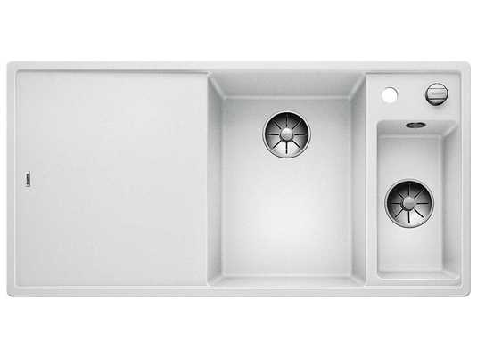 Produktabbildung Blanco Axia III 6 S-F Weiß - 523 486 Granitspüle