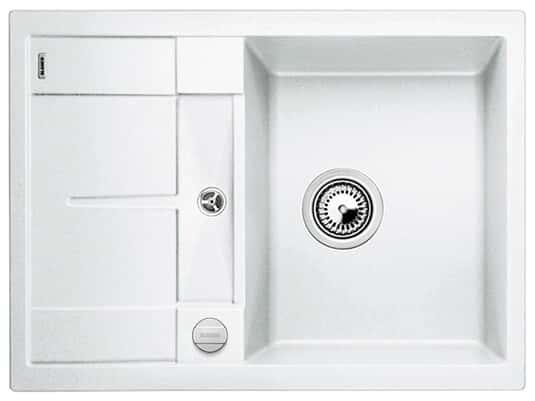 Blanco Metra 45 S Compact Weiß Granitspüle