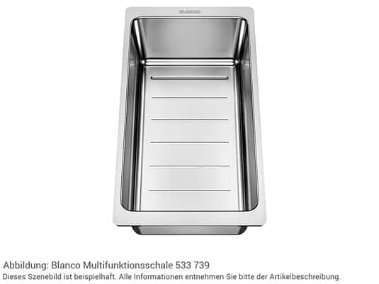 Blanco 233 739  Multifunktionsschale Edelstahl