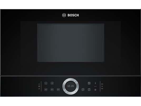 Artikelabbildung Bosch BFL634GB1 Einbau Mikrowelle Vulkan schwarz