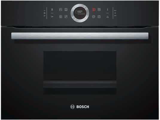Bosch CDG634BB1 Kompakt Dampfgarer Schwarz