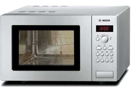 Bosch HMT75G451 Stand-Mikrowelle mit Grill Edelstahl