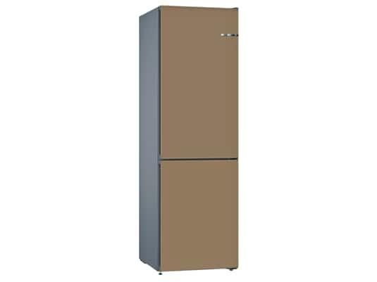 Produktabbildung Bosch KVN39IC3AB Stand Kühl-Gefrier-Kombination Edelstahl/Kaffeebraun
