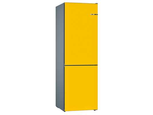 Produktabbildung Bosch KVN39IF3AB Stand Kühl-Gefrier-Kombination Edelstahl/Sonnenblume