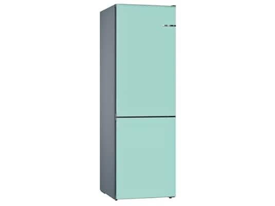 Produktabbildung Bosch KVN39IT3AB Stand Kühl-Gefrier-Kombination Edelstahl/Pastellblau
