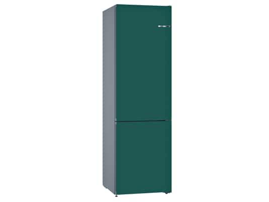 Produktabbildung Bosch KVN39IU3AB Stand Kühl-Gefrier-Kombination Edelstahl/Petrol