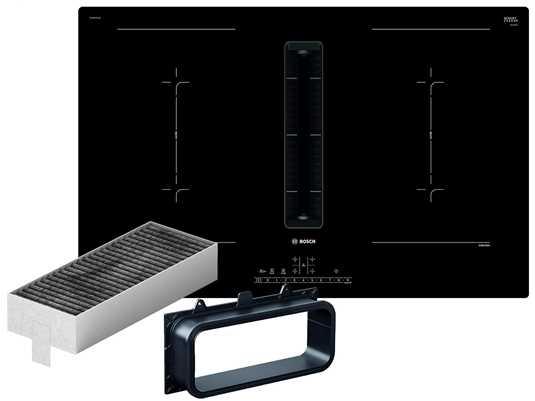 Produktabbildung Bosch PVQ811U60 Induktionskochfeld-Dunstabzug-Kombination PVQ811F15E +  Installationszubehör