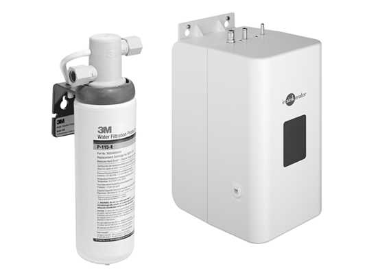 Produktabbildung Dornbracht Heißwassertank 12 892 970 90 inkl. Filter