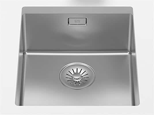 Produktabbildung Dornbracht Edelstahl-Spüle Poliert 38340003-85