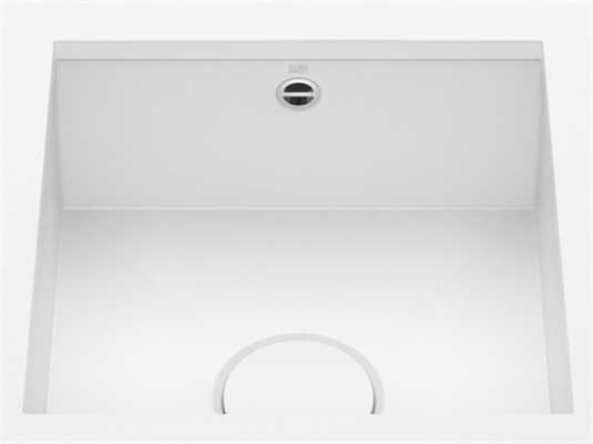 Produktabbildung Dornbracht Unterbau-Spüle Glasierter Stahl 38400002-62