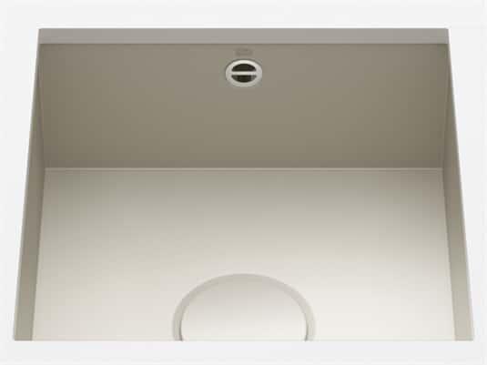 Produktabbildung Dornbracht Unterbau-Spüle Glasierter Stahl Sand Matt 38400002-72