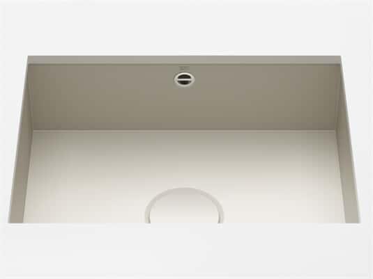 Produktabbildung Dornbracht Unterbau-Spüle Glasierter Stahl Sand Matt 38550002-72