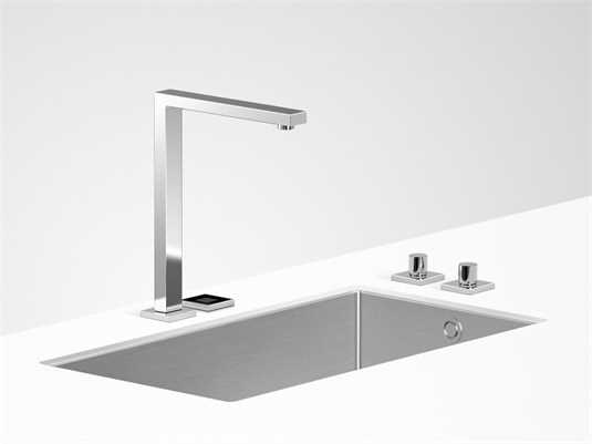 Produktabbildung Dornbracht Lot eUnit Kitchen Chrom 41 270 680-00 Hochdruckarmatur