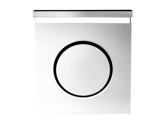 Produktabbildung Elica Om 61612978A Kopffreihaube Weißes Glas