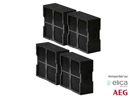 Produktabbildung Elica KIT0120952 Keramik-Filter 4 Stück