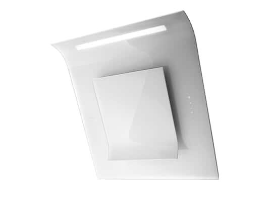 Produktabbildung Elica Sinfonia PRF0010418B Kopffreihaube Weißes Glas