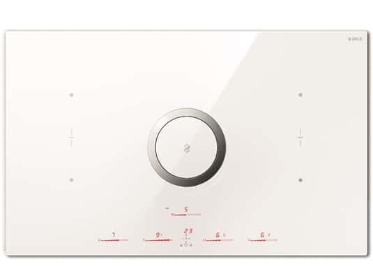Produktabbildung Elica NikolaTesla Switch PRF0146216 Induktionskochfeld-Dunstabzug-Kombination Weiß