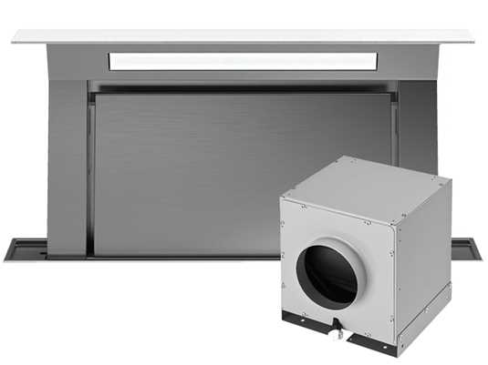 Produktabbildung Falmec Downdraft 120 Tischhaube Weiß inkl. Motor