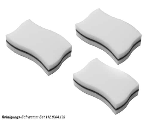 Produktabbildung Franke 112.0304.193 Reinigungs-Schwamm 3er Set