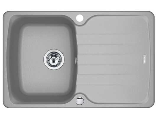 Produktabbildung Franke Antea AZG 611-78 Steingrau - 114.0512.158 Granitspüle Exzenterbetätigung