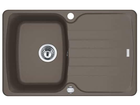 Produktabbildung Franke Antea AZG 611-78 Umbra - 114.0512.171 Granitspüle Exzenterbetätigung