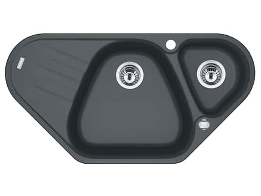 Produktabbildung Franke Antea AZG 661-E Graphit - 114.0477.988 Granitspüle Exzenterbetätigung