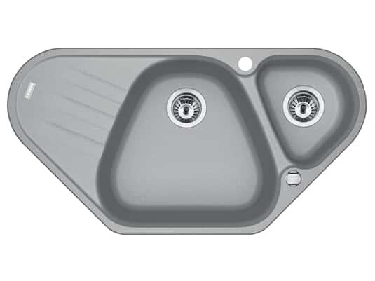 Produktabbildung Franke Antea AZG 661-E Steingrau - 114.0477.993 Granitspüle Exzenterbetätigung