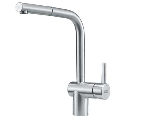 Produktabbildung Franke Atlas Neo Window Edelstahl - 115.0521.439 Hochdruckarmatur