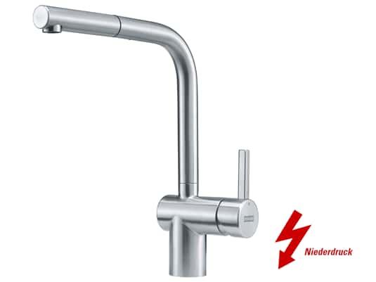 Produktabbildung Franke Atlas Neo Window Edelstahl - 115.0521.440 Niederdruckarmatur