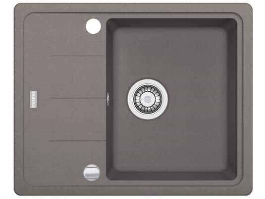 Draufsicht von Franke Basis BFG 611-62 Cashmere Granit-Spüle