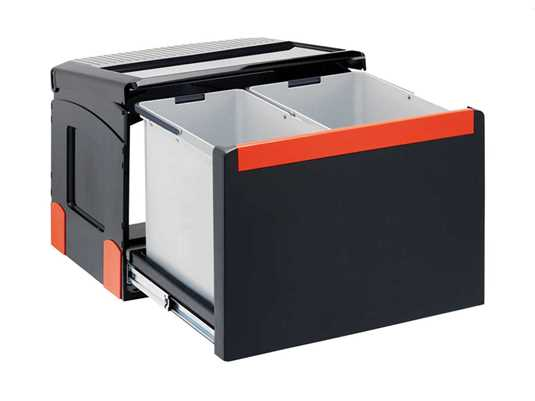 Produktabbildung Franke Sorter Cube 50 - 134.0055.289 Einbau Abfallsammler
