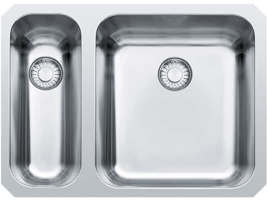 Produktabbildung Franke Epos EOX 160 Edelstahl-Spüle glatt