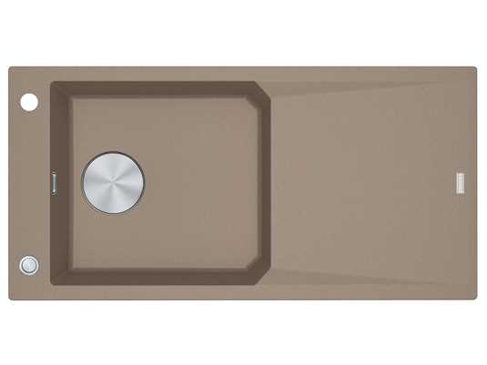Franke FXG 611-100 Cashmere - 114.0512.340 Granitspüle Exzenterbetätigung