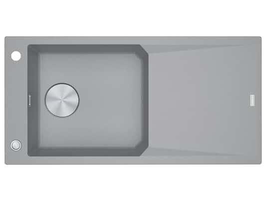 Produktabbildung Franke FXG 611-100 Steingrau - 114.0512.362 Granitspüle Exzenterbetätigung