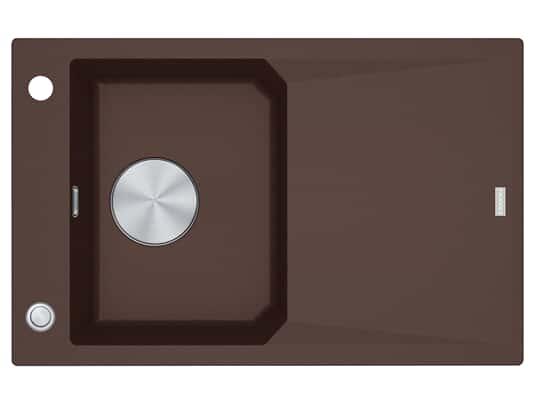 Franke FXG 611-78 Chocolate - 114.0512.404 Granitspüle Exzenterbetätigung