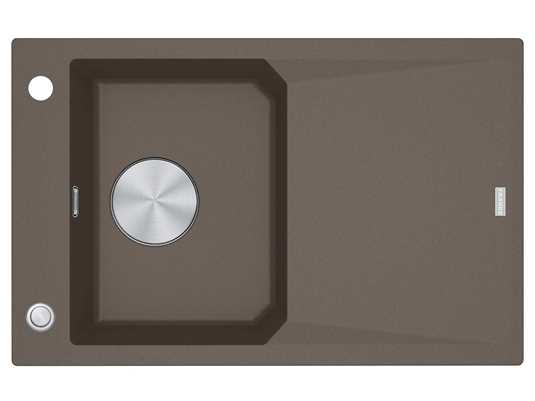 Produktabbildung Franke FXG 611-78 Umbra - 114.0512.421 Granitspüle Exzenterbetätigung
