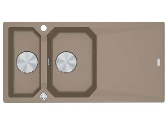 Franke FXG 661 Cashmere - 114.0512.430 Granitspüle Exzenterbetätigung