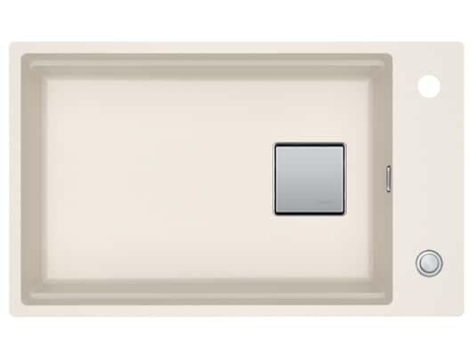Franke Kubus 2 KNG 110-62 Magnolia - 11468 Granitspüle Exzenterbetätigung