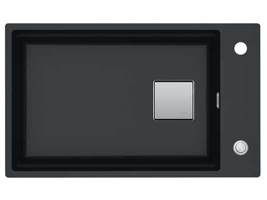 Produktabbildung Franke Kubus 2 KNG 110-62 Onyx - 11644 Granitspüle Exzenterbetätigung
