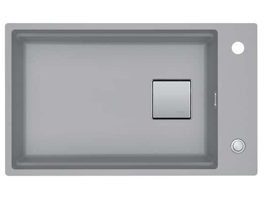 Franke Kubus 2 KNG 110-62 Steingrau - 11771 Granitspüle Exzenterbetätigung