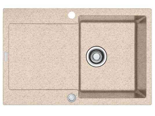 Franke Maris MRG 211 Beige - 11396 Granitspüle Exzenterbetätigung
