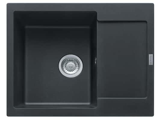 Franke Maris MRG 611-62 Onyx - 114.0477.500 Granitspüle Exzenterbetätigung