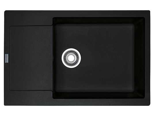Franke Maris MRG 611-78 XL Onyx - 114.0476.149 Granitspüle Exzenterbetätigung
