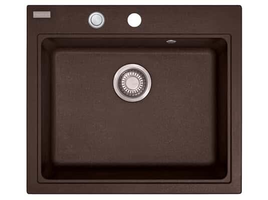 Franke Maris MRG 210-58 Chocolate - 11511 Granitspüle Exzenterbetätigung