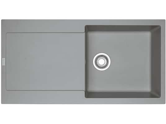 Draufsicht von Franke Maris MRG 211 Steingrau Granit-Spüle