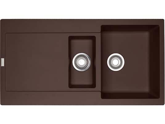 Franke Maris MRG 251 Chocolate - 135.0477.256 Granitspüle Exzenterbetätigung
