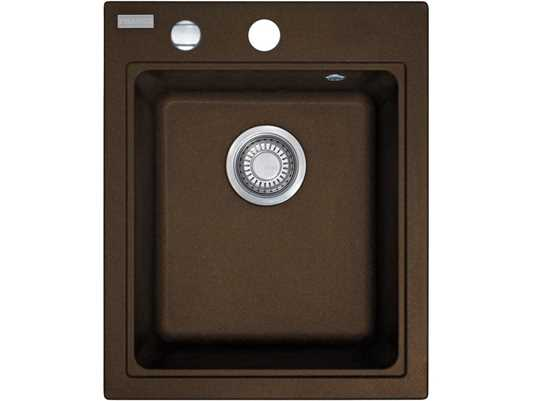 Franke Maris MRG 610-42 Chocolate Granitspüle