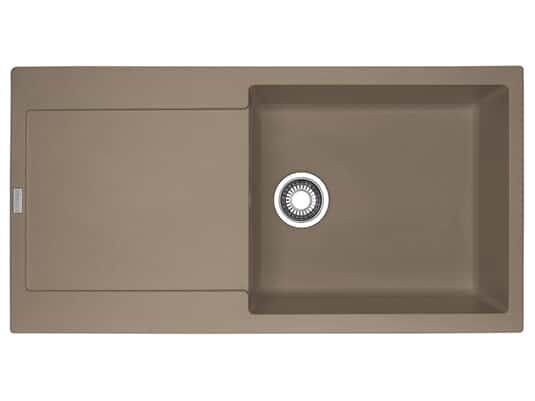 Franke Maris MRG 611-100 XL Cashmere - 114.0477.377 Granitspüle Exzenterbetätigung
