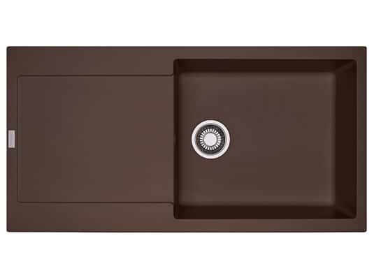 Franke Maris MRG 611-100 XL Chocolate - 114.0477.379 Granitspüle Exzenterbetätigung