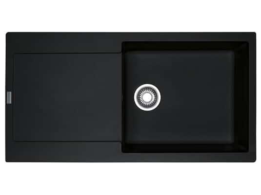 Franke Maris MRG 611-100 XL Onyx - 114.0477.370 Granitspüle Exzenterbetätigung
